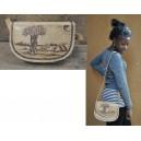 Sac à épaule vintage fabriqué par Abas Koanda