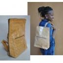 Sac à dos en cuir fabriqué par Abas Koanda
