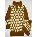 Children's knitted jumper & hat set by Zoénabou Savadogo: