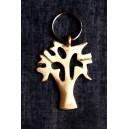 Porte-clé sous forme d'arbre, fabriqué à la main par Issouf Sebgo