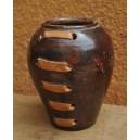 Vase chocolatée par Seydou Koussoubé et Sana Yassia