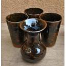 Vase en céramique par Lassané Sakandé