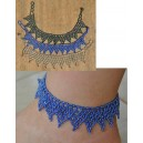 Rasmata Ouédraogo: Anklet & Earrings 1