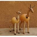 Un cheval qui bouge la tête fabriqué par Evariste Sorgho and Séni Sawadogo