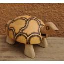 Une tortue qui bouge la tête fabriqué par Evariste Sorgho & Séni Sawadogo