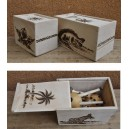 Evariste Sorgho: Boîte Pour Puzzles (Petite)